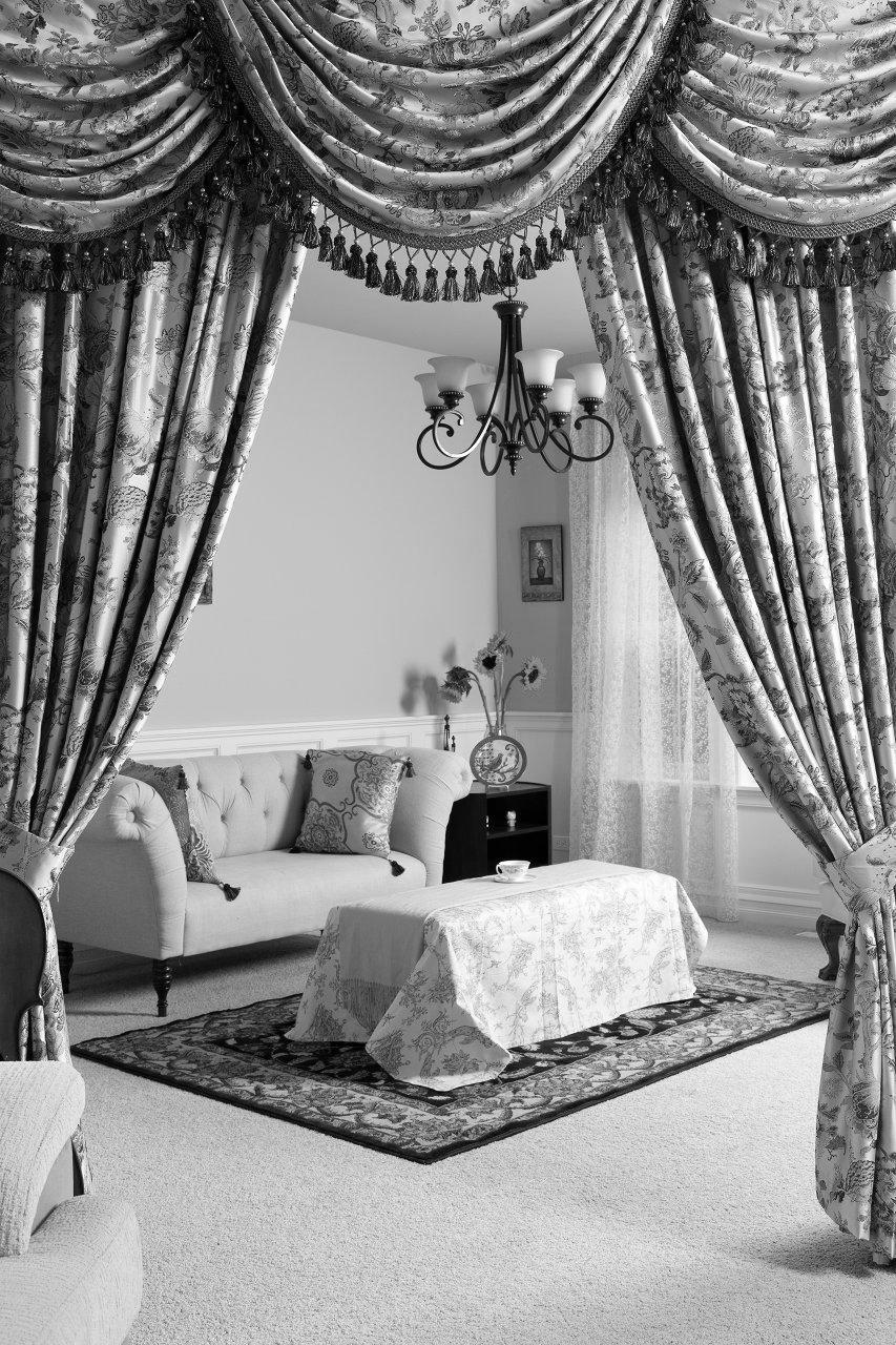 Портьерные ткани в классическом стиле