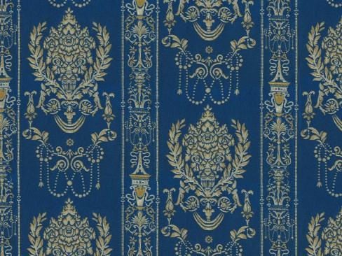 Ткань для штор с классическим рисунком