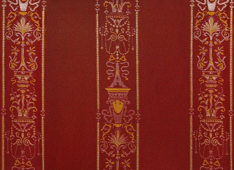 Ткань для штор в спальню в классическом стиле