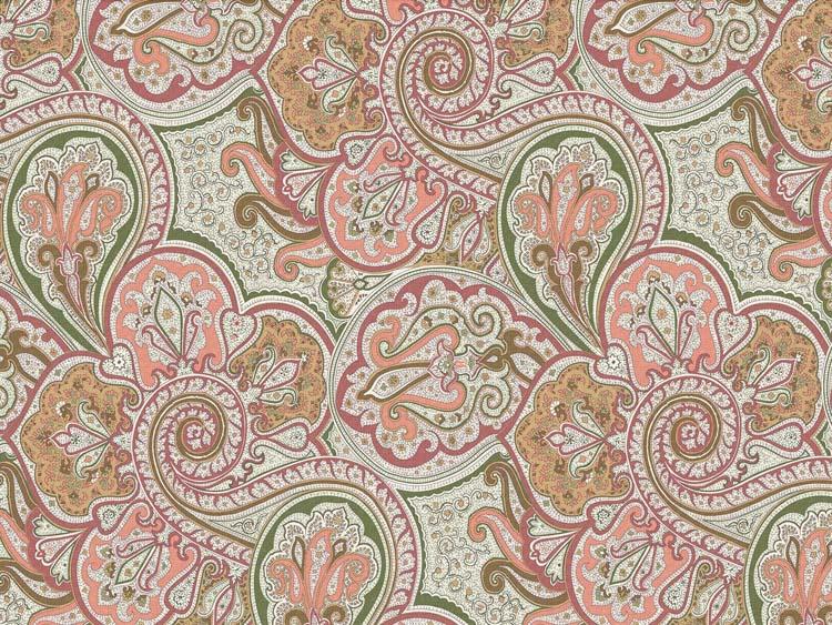 ткани для штор в восточном стиле из натурального хлопка