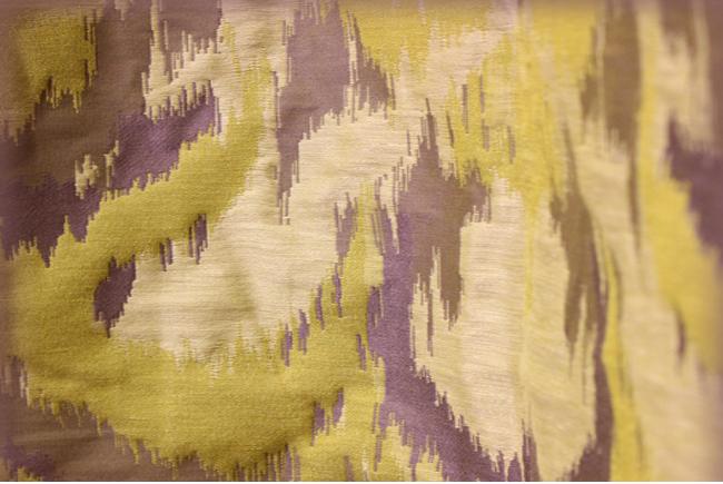 Жаккардовая ткань для штор в восточном стиле