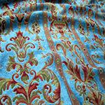 Ткань для штор в восточном стиле Шеннил