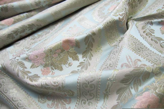 Ткань для штор в восточном стиле Жаккард