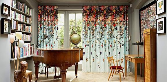 Ткани для штор в современном минималистском стиле